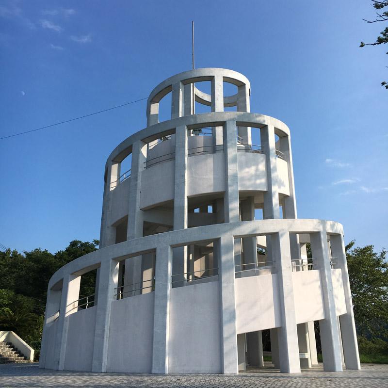 リップルランドのシンボルタワー