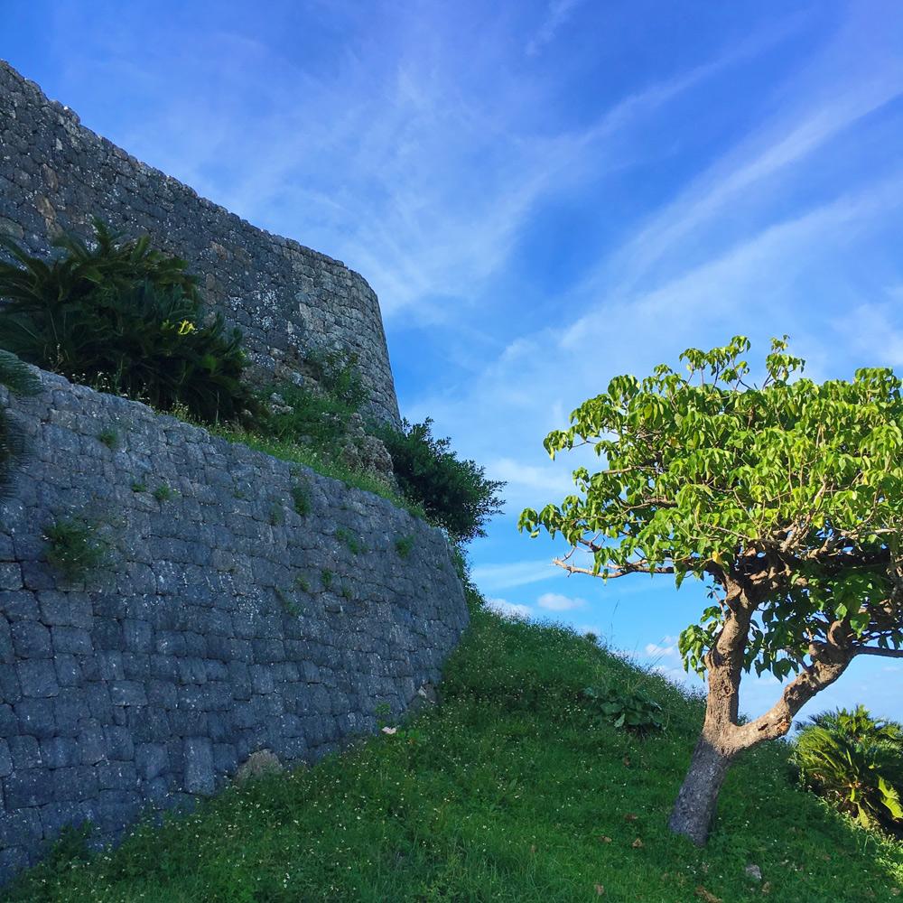 勝連城の石垣