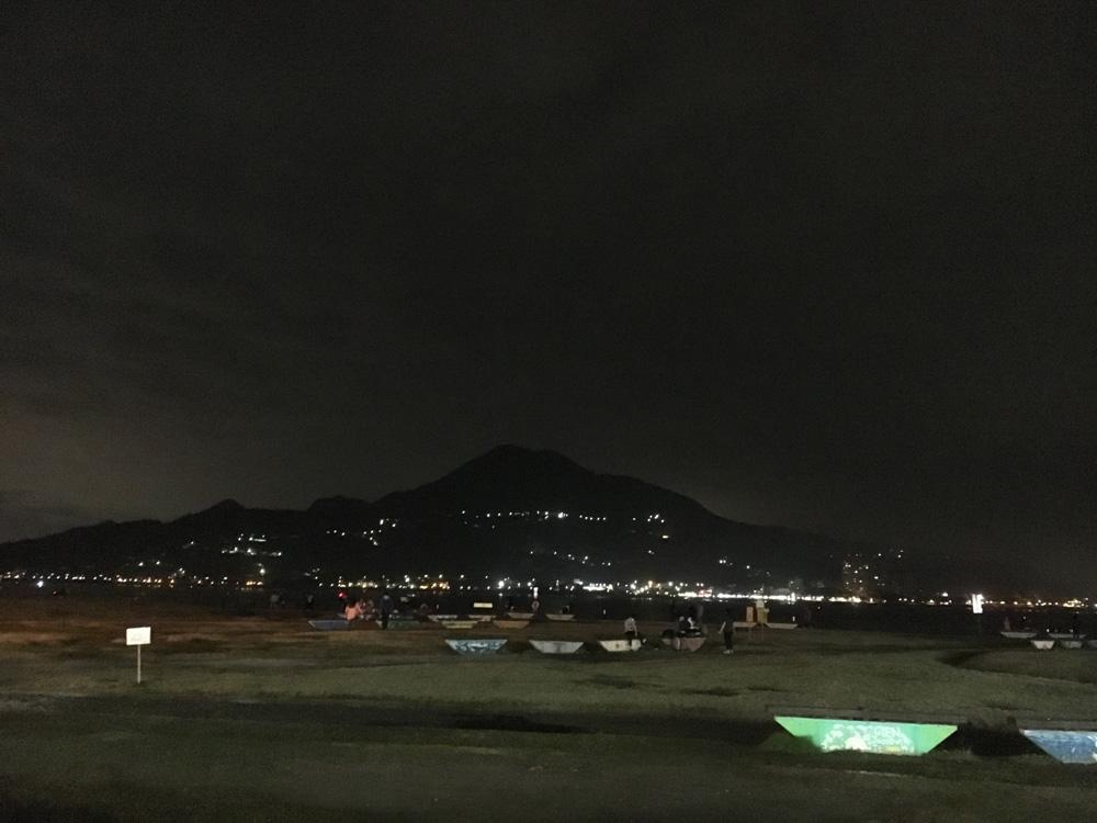 觀音山の夜景
