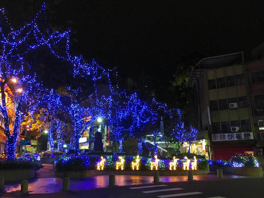 淡水のクリスマスイルミネーション