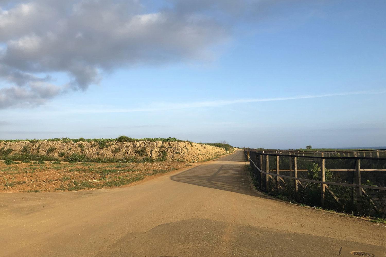 来間島の農道