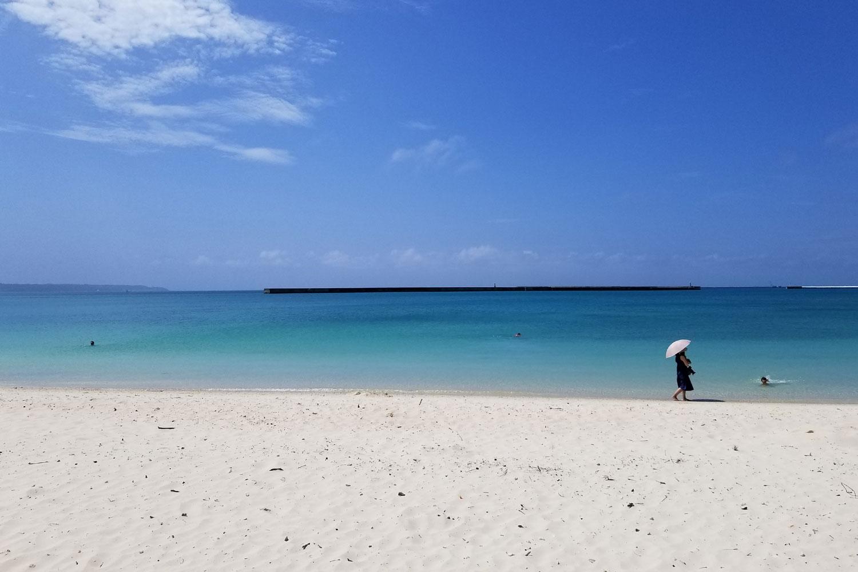 パイナガマビーチの午後