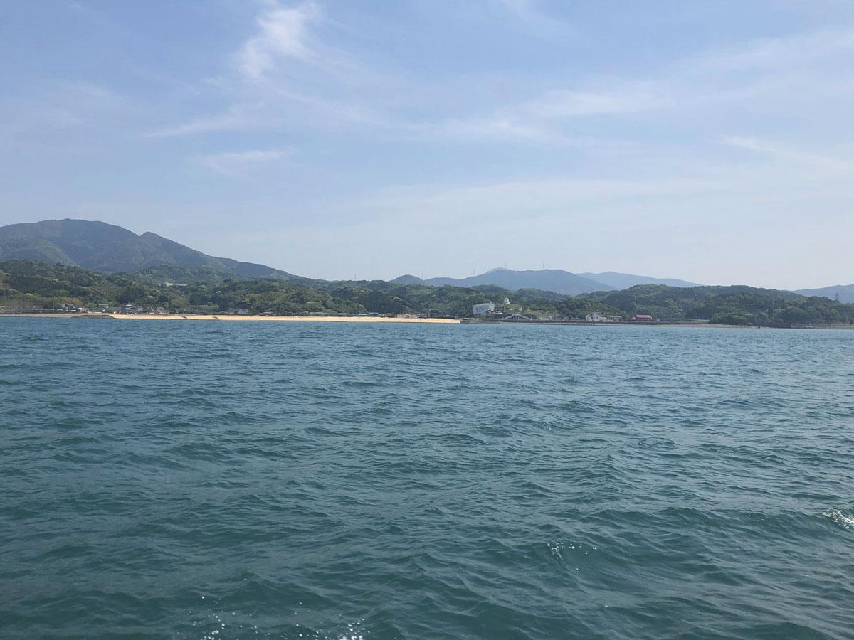 四郎ヶ浜ビーチとリップルランド