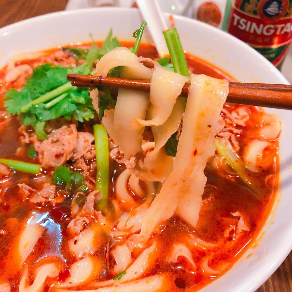 刀削麺の特徴