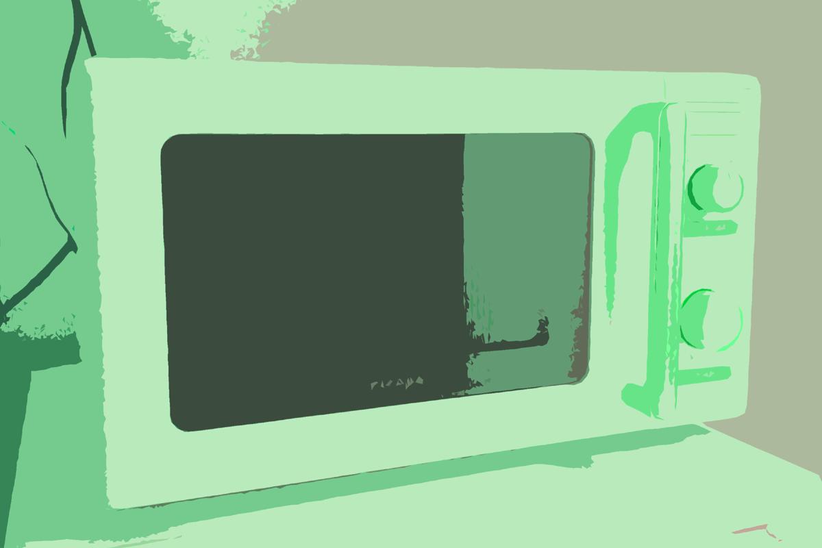 アイリスオーヤマの電子レンジ