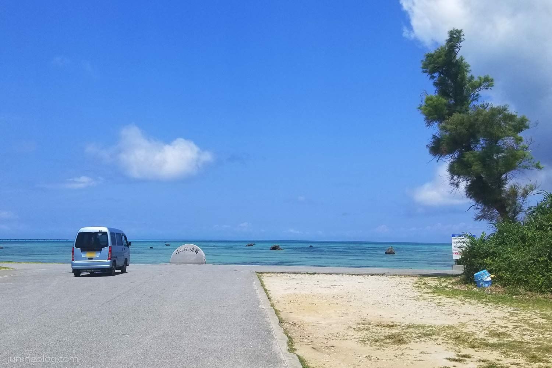 佐和田の浜を北側から