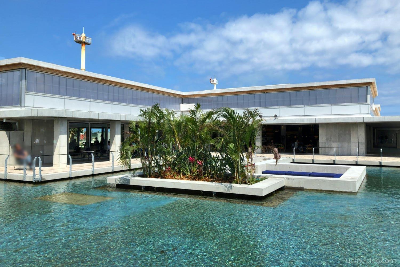 下地島空港のプール