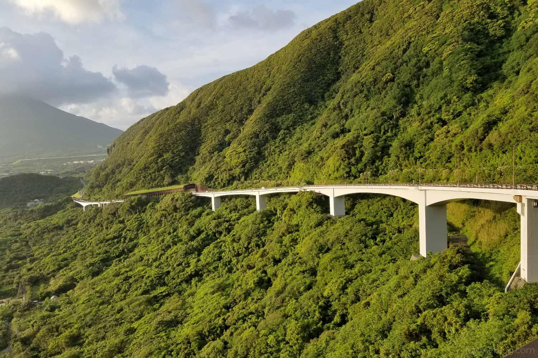 大坂トンネルの陸橋