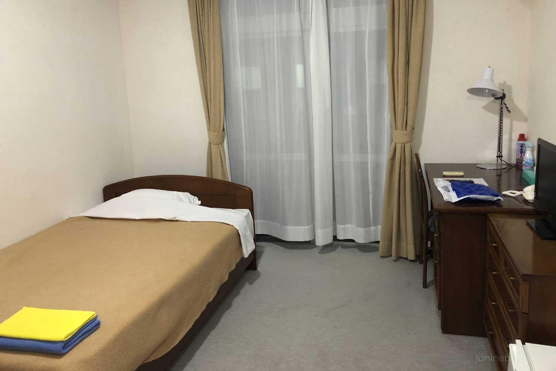 下地島コーラルホテルのシングルルーム