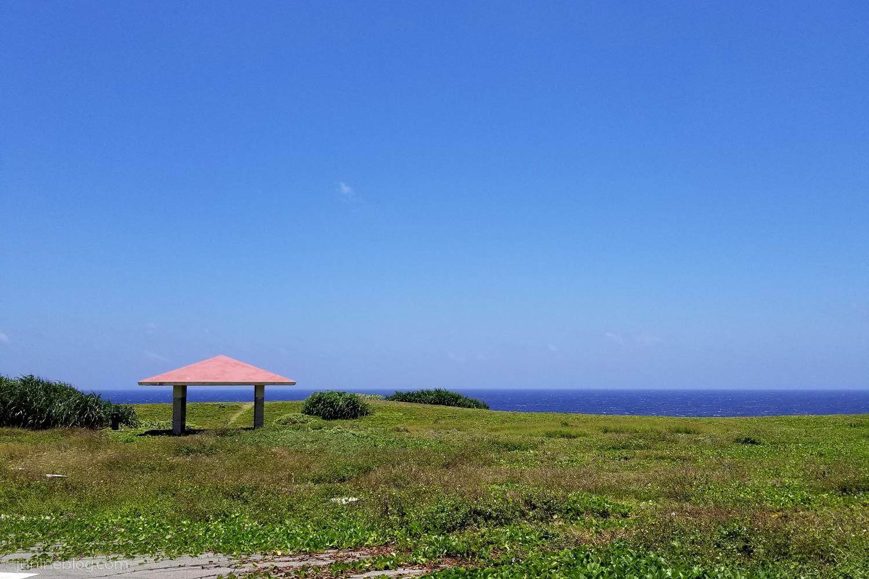 波照間島の南海岸側の風景