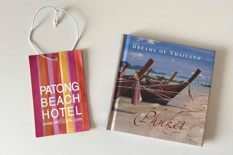 パトンビーチホテルのタグとプーケット写真集