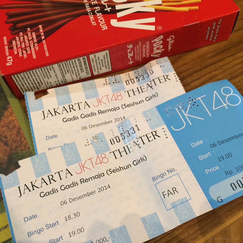 JKT48劇場公演チケット